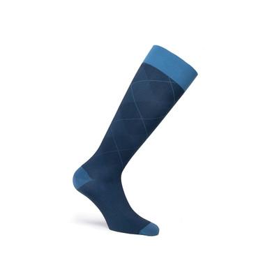 JOBST CASUAL BLUE 15 20 MMHG SOCK