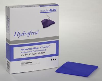 DRESSING HYDROFERA BLUE FOAM 4 X 4IN (AC6584)