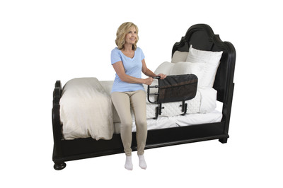 STANDER EZ ADJUST BED RAIL WITH ORGANIZER POUCH (AC584)