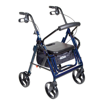 DUET TRANSPORT CHAIR AND ROLLATOR DRIVE MEDICAL