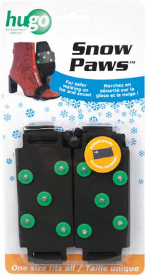 HUGO SNOW PAWS SNOW AND ICE GRIPPER FOR SHOES