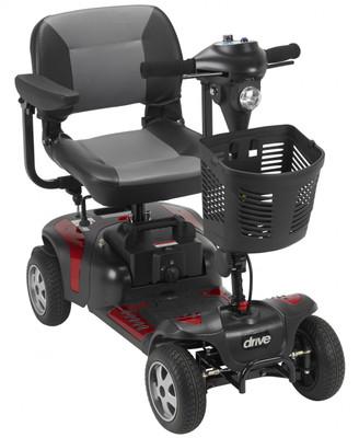 Phoenix Heavy Duty Travel 4 Wheel Scooter - 1