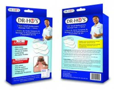 DR HO'S REPLACEMENT ELECTRODE 1 PAIR LARGE FLEXTONE PADS