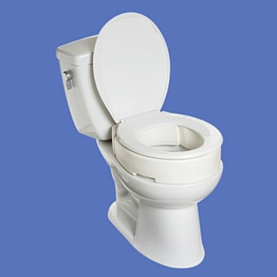 MOBB HINGED ELONGATED RASIED TOILET SEAT