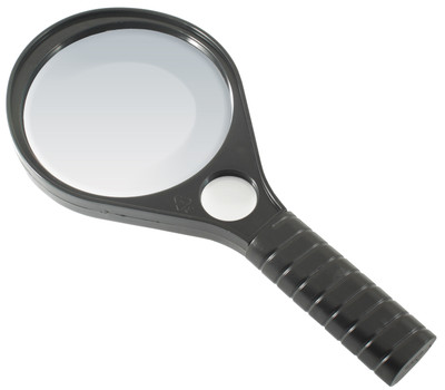 LARGE MAGNIFYING GLASS 3 X