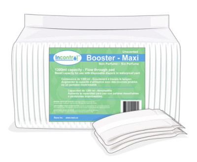 REARZ INCONTROL UNSCENTED BOOSTER PAD (AC5530)
