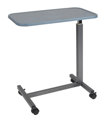 DRIVE MEDICAL OVERBED TABLE WITH PLASTIC TOP