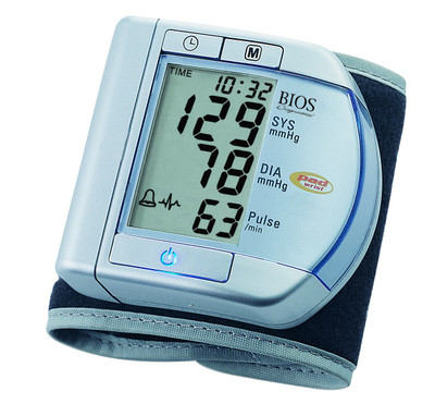 BIOS PRECISION WRIST BLOOD PRESSURE MONITOR