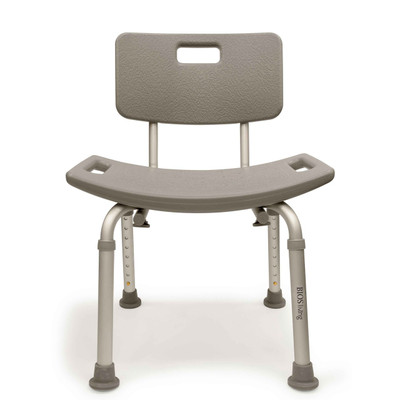 BIOS ADJUSTABLE SHOWER CHAIR WITH BACK