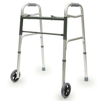 BIOS DELUXE FOLDING WALKER WITH WHEELS