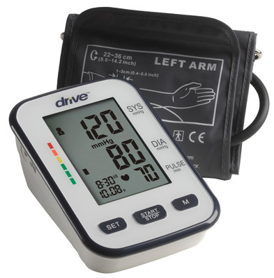 DRIVE DELUXE UPPER ARM BLOOD PRESSURE MONITOR