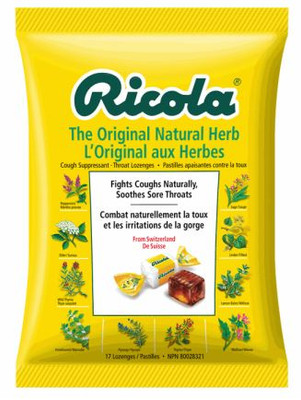 RICOLA ORIGINAL HERB LOZENGES 68G