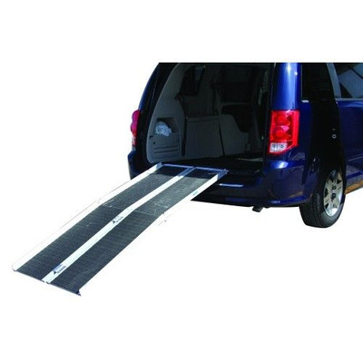 MULTIFOLD WHEELCHAIR RAMPS WITH GRIP TAPE