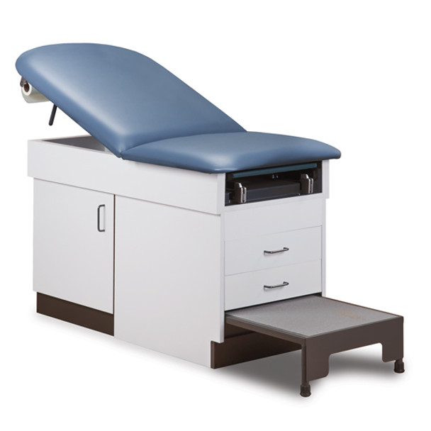 Clinton 8890 Family Practice Exam Table w/Patient Step