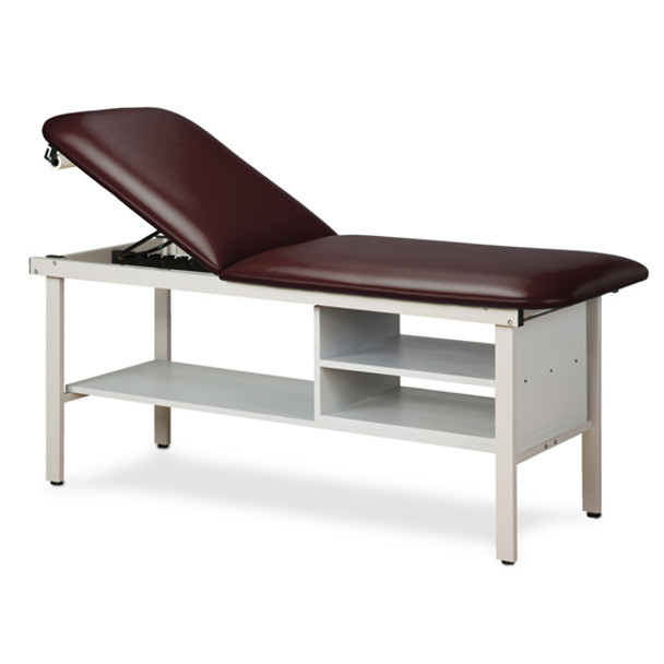 Clinton 3030 Alpha Series Treatment Table with Shelving