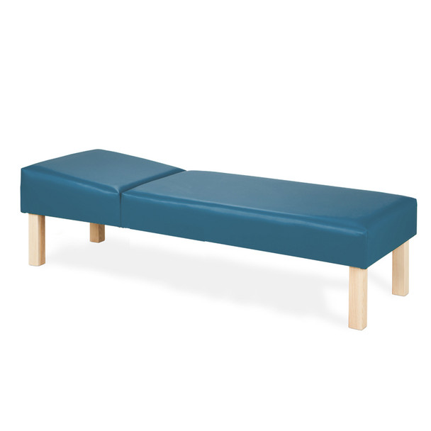 Clinton 3620 Nurses Recovery Couch w/hardwood legs