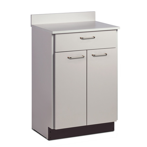Clinton 8821 Treatment Cabinet w/2 Doors and 1 Drawer