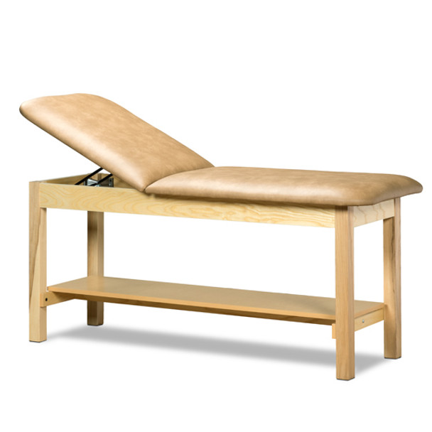 Clinton 1020 Classic Series Treatment Table with Shelf