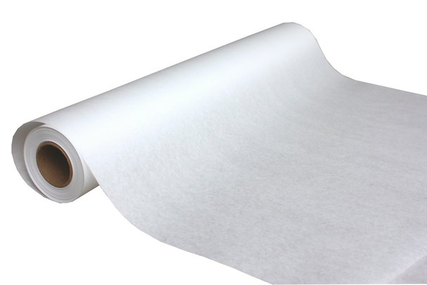 """Table Paper; 18"""" x 225"""", Smooth, White (12/case)"""