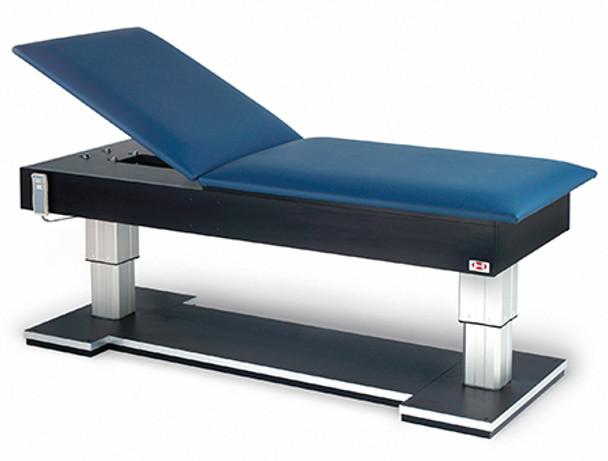Hausmann 4795 Bariatric Hi-Lo Treatment Table w/Power Backrest