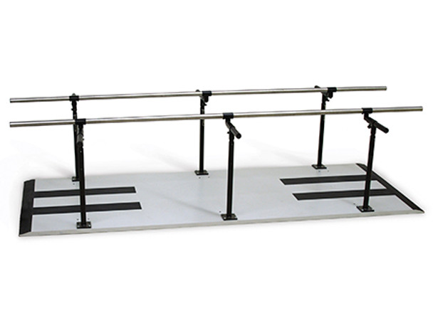 Hausmann 1386 Adjustable Bariatric Parallel Bars 10 ft