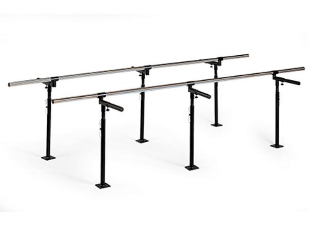 Hausmann 10 foot Floor Mounted Bariatric Parallel Bars
