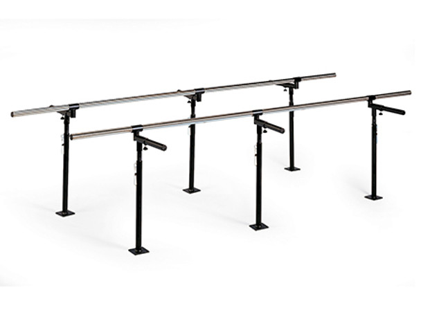 Hausmann 7 foot Floor Mounted Bariatric Parallel Bars