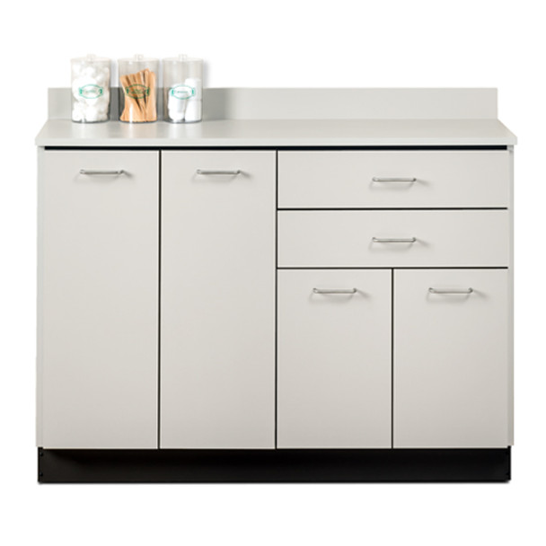 Clinton 8048 Base Cabinet w/4 Doors and 2 Drawers