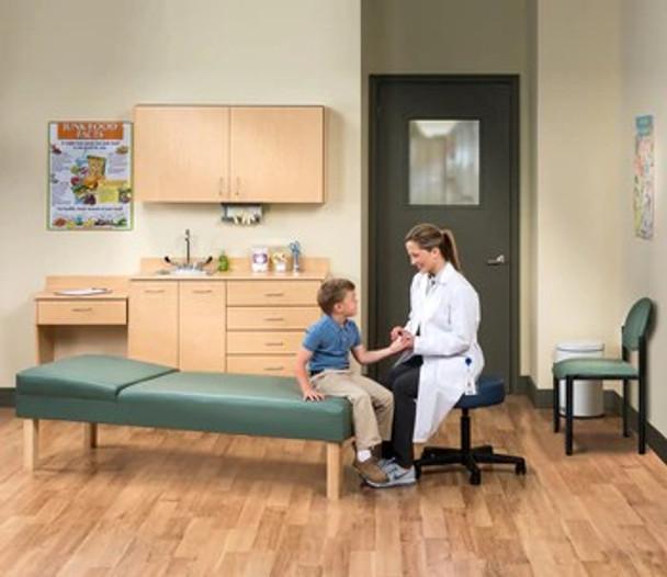 School Nurse/Pediatric Ready Room w/wood legs