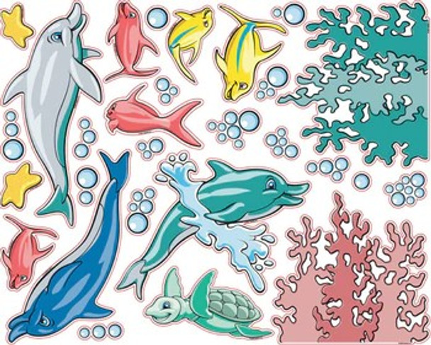 Pedia Pals Pediatric Underwater Decal Kit