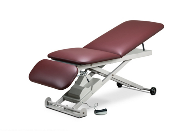 Clinton E-Series, Power Table w/ Adjustasble Backrest and Drop Section