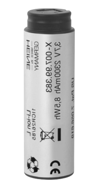Midmark Heine X-007-99-383-166 Rechargeable Lithium Ion Battery