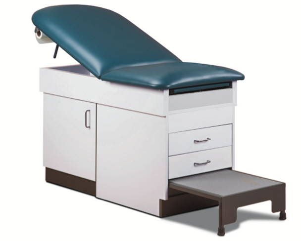Clinton 8844 Step-Up Space Saver Table with step