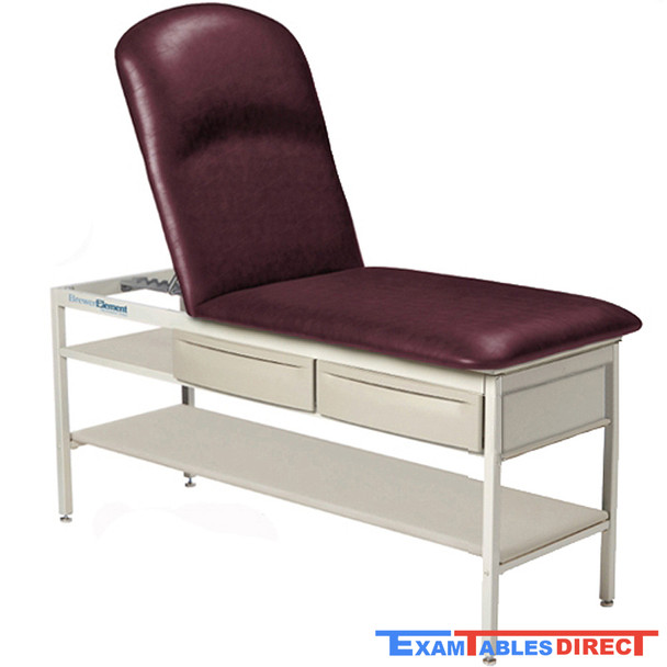 Brewer 2240 Adjustable Pillow Top Element Treatment Table with Drawers