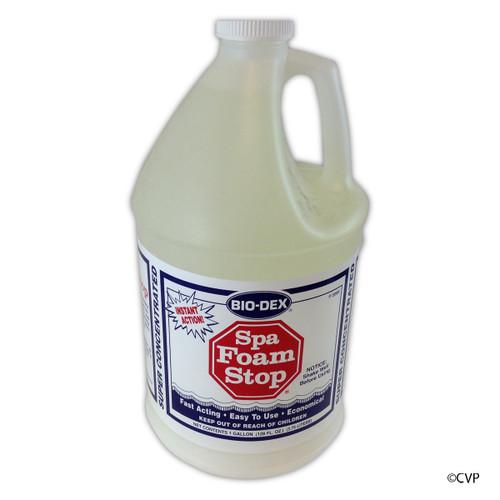 BIO-DEX CHEMICALS | 1 GALLON SPA FOAM STOP | SFS04