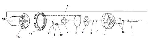 STENNER   DIAL RING 45M/100DM/100MDC   FC5M040