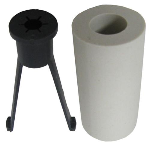 "STENNER   CLAY LEAD TUBE WEIGHT W/FERRULE & NUT 1/4""   UCMACW0"