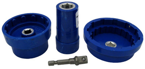 """WATERCO   VALUE PACK 3 SOCKETS  WITH 1/4""""x3/8"""" DRIVE BIT   MT-301"""