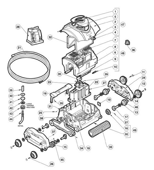 HAYWARD | RING, DRIVE WITH RUBBER ASSEMBLY | RCX97440