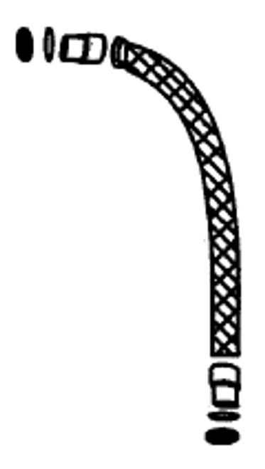 """PENTAIR   PUMP TO FILTER HOSE KIT 18"""" METEOR 6-04 THRU 2008   155662"""