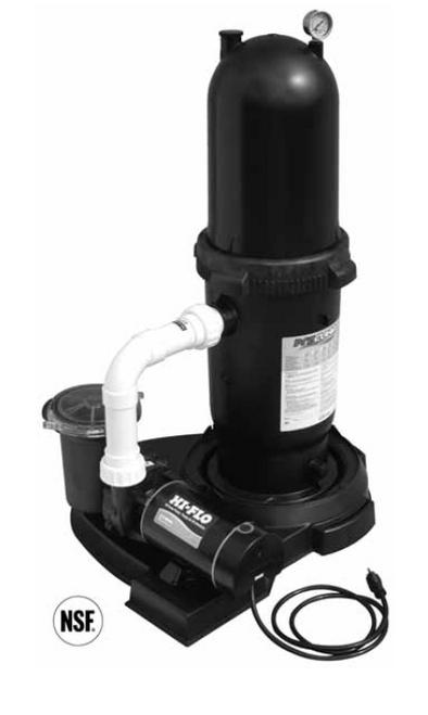 WATERWAY | PROCLEAN / HI-FLO CARTRIDGE FILTER SYSTEM - SINGLE SPEED | n520-6515-6S