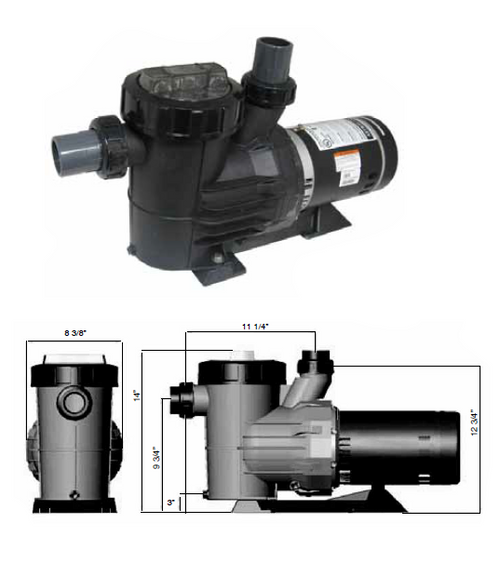 ASTRAL   SINGLE SPEED UP-RATED PUMPS   IGP2025