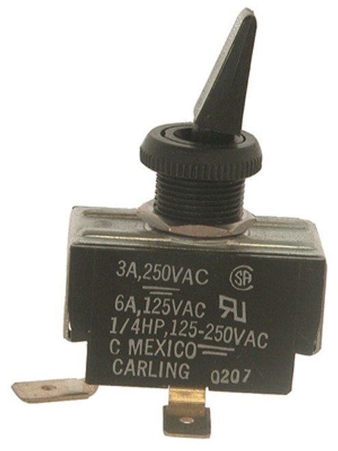 RAYPAK | TOGGLE SWITCH - SPADE  CONNECTORS COME OUT TO THE SIDE | 650595