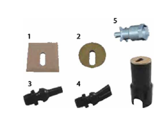 JANDY | DUAL STREAM NOZZLE ASSEMBLY | 25597-100-900