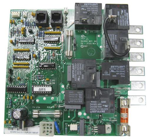 "BALBOA | 1560-97 CIRCUIT BOARD 6 1/16"" X 5 3/4"" CHIP# SLDR1B (2) 6 PIN PHONE PLUG CONNECTORS | 50698"