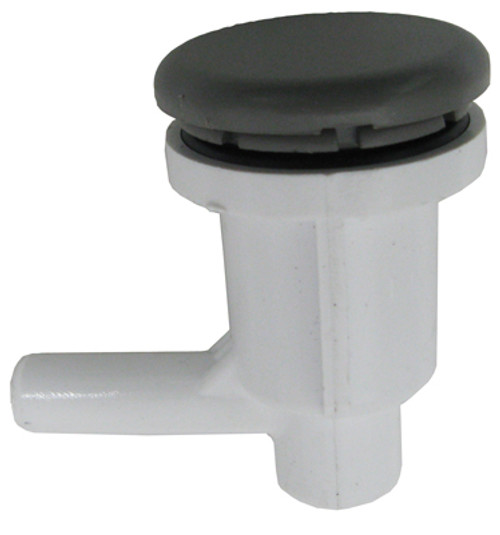 """WATERWAY   3/8"""" BARB, ELL AIR, INJECTOR, GRAY   670-2207"""
