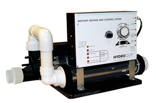 HydroQuip | BAPTISMAL EQUIPMENT SYSTEM | 11KW HEATER CONTROL WITH 7-DAY TIMER SYSTEM COMPLETE | BES-6005T
