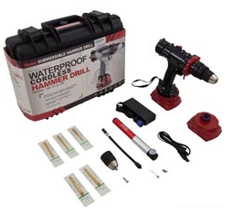 Underwater Hammer Drill, Nemo Power Tools, 164 Foot Depth | 0225-6  | 99-645-1014