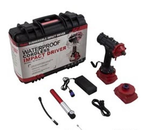 Underwater Impact Driver, Nemo Power Tools, 164 Foot Depth | 0225-4 | 99-645-1008