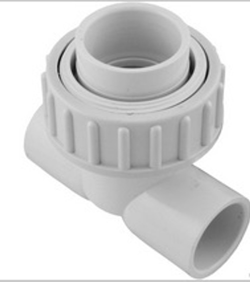"""Union, Tee, Syllent, 1"""" Slip, with 40mm Adapter, Low Prof 